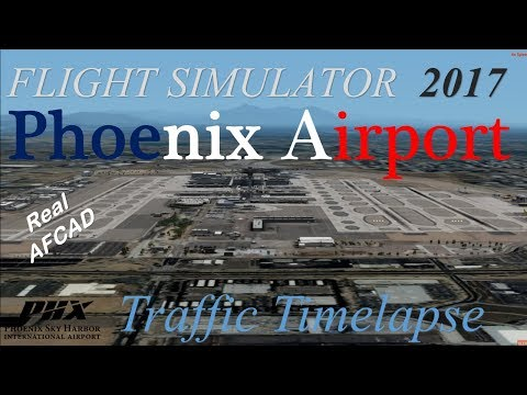 Prepar3D 2017 (Summer): Flightbeam - Phoenix Sky Harbor International Airport (PHX/KPHX)