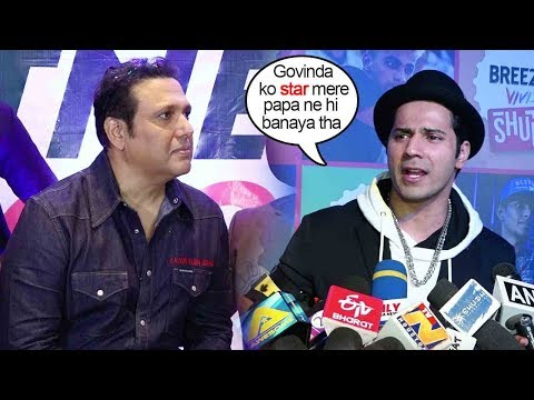 Varun Dhawan's Unbeilvable INSULT to Govinda when asked about NOT Taking Him In Coolie No 1 Remake Mp3
