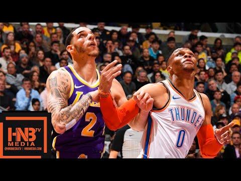 LA Lakers vs OKC Thunder Full Game Highlights | 01/02/2019 NBA Season