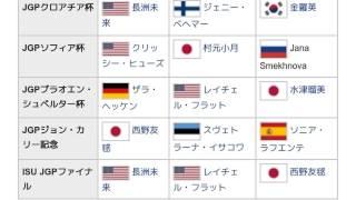 「2007/2008 ISUジュニアグランプリ」とは ウィキ動画