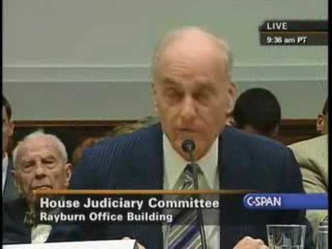Hearing on Limits of Executive Power: Vincent Bugliosi