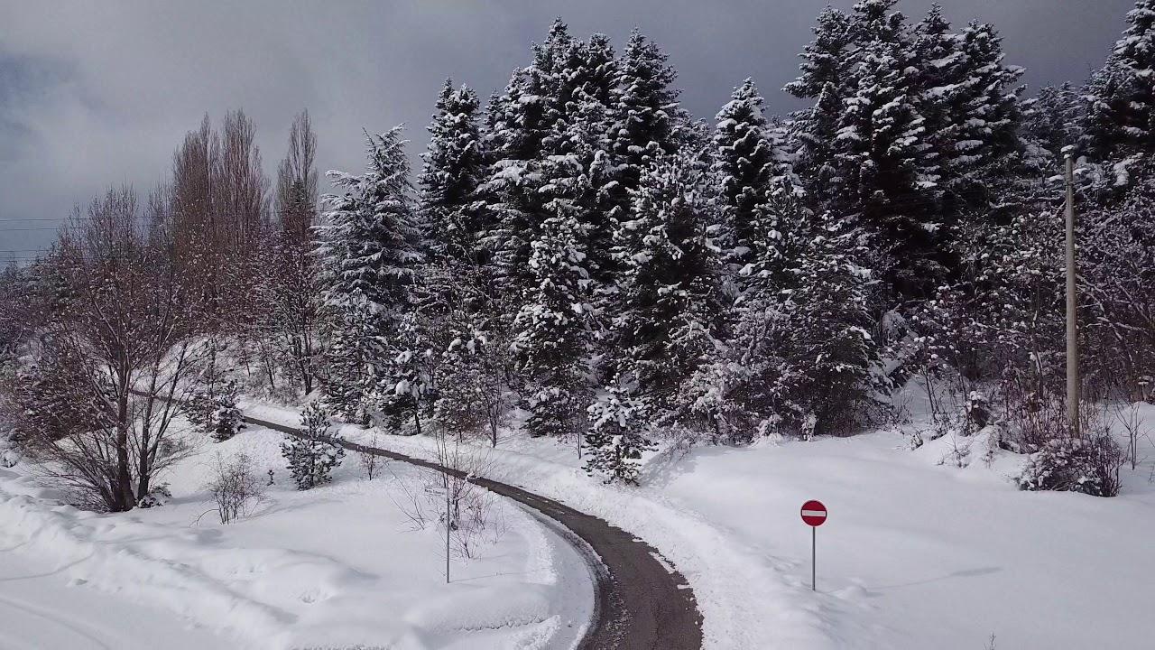 Neve in Abruzzo 2019