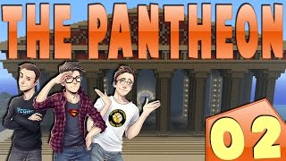MINECRAFT : THE PANTHEON - SPERDUTI NEL DUNGEON!! w/SurrealPower & Vegas #2