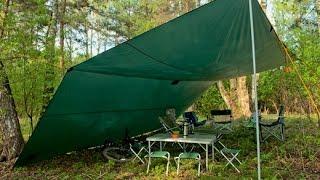 видео Тент шатер — незаменимая вещь на природе