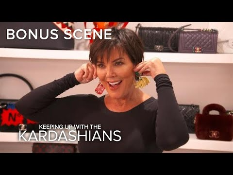 KUWTK | Kris Jenner Is Ready to Show Off Her New Ears! | E!