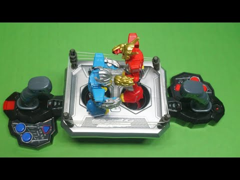 Boxing Robot Game With Two Joysticks Controller