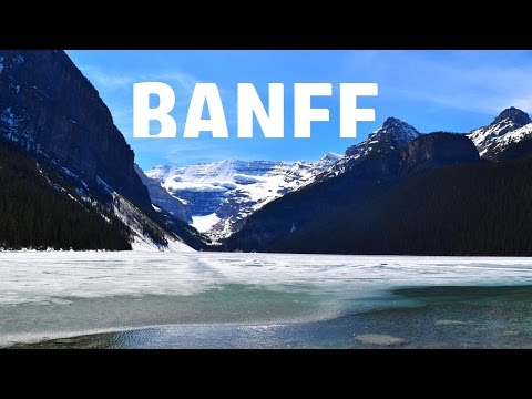 Outstanding Banff, Alberta, Canada in 1080p (full HD)