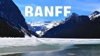 outstanding banff alberta canada in 1080p full hd