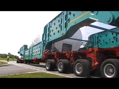 Convoi exceptionnel de 109 mètres (partie 8)