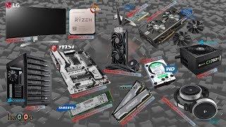 #AMD #Ryzen AMD Ryzen 7 1800X - MSI X370 XPOWER GAMING TITANIUM - AMD RX 580 Yeni PC Topluyorum