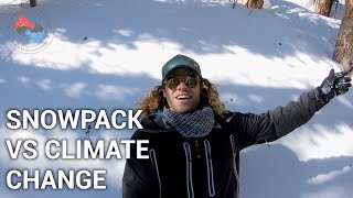 HOW SNOWPACK CAN SAVE THE WEST | ADVENTURE HYDROLOGY | ROCKY MOUNTAIN NATIONAL PARK | COLORADO