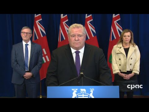 Premier Doug Ford on Ontario's COVID-19 projections & new essential businesses list – April 3, 2020