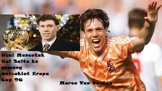 Bola Salto Marco Van Basten Piala Eropa 96 Belanda  di Jerman,