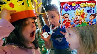 Chow Crown Challenge Fun Food Games for Kids & Family Funny Board Game Toys by Kinder Playtime