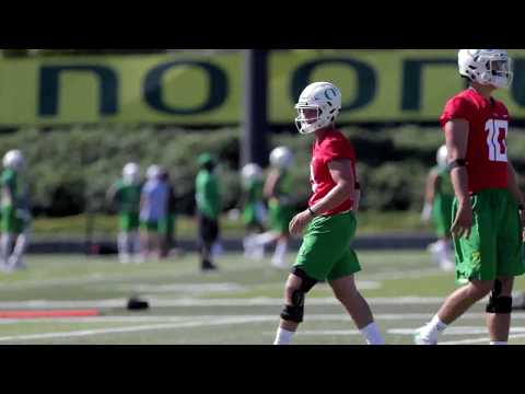 Oregon Ducks football: Sights and sounds from Day 1 of fall camp