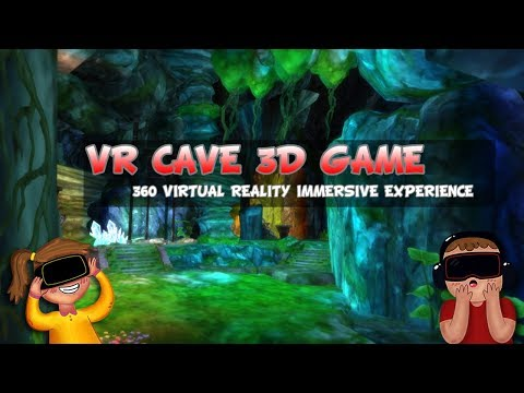 VR CAVE 3D Game - FREE 360 Virtual Reality tour