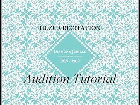 Ba Ruz-o-Shaab Mani Shayda - Mulaqat Audition Tutorial by Aly Sunderji