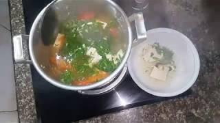 cách nấu canh đậu phụ chống ngán thanh mát.