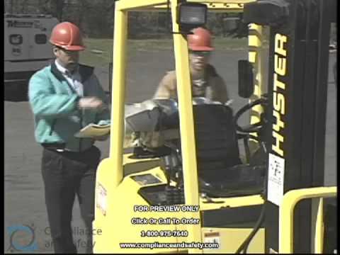 Forklift Training Video by Atlantic Training