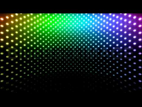Led Lights On Wall: Stock Footage : LED Light wall neon disco flash Cb1 BTR,Lighting