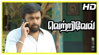 Vetrivel tamil movie | scenes | Prabhu attacked by Viji's goon | Rajesh wants Varsha to leave