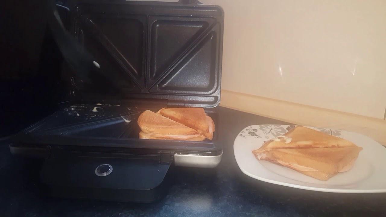 wmf lono sandwich toaster leckeres sandwich in 5 minuten. Black Bedroom Furniture Sets. Home Design Ideas