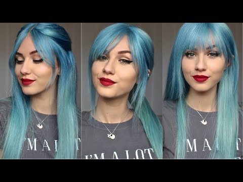 How to Cut 3 Different Bangs | ft. DonaloveHair