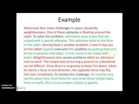 Writing-Problem Solution Paragraphs