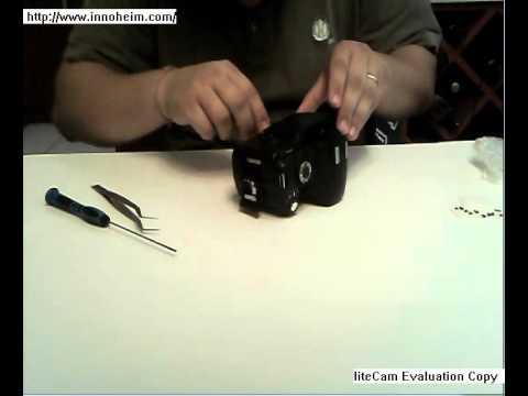 Nikon D60 infrared conversion