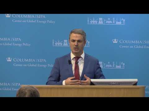 Ibrahim Baylan, Swedish Minister for Policy Coordination and Energy
