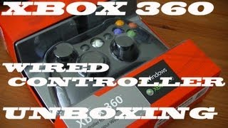 Unboxing: Xbox 360/PC Wired Controller