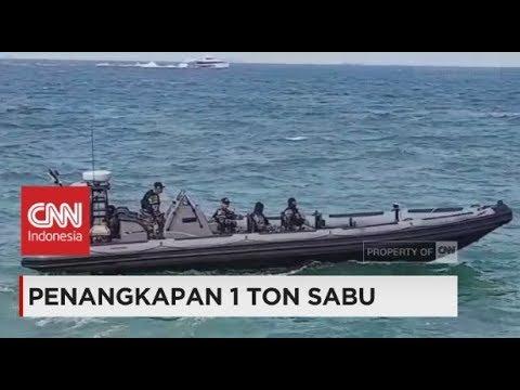 TNI AL Amankan Kapal Pengangkut Satu Ton Sabu, KM Sunrise Glory Asal Taiwan
