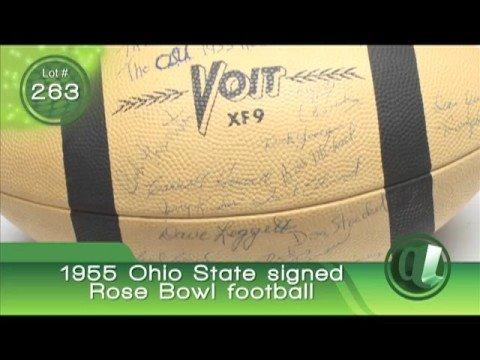 Bob Hope Auction: 1955 Ohio State Football