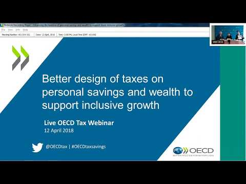 Better design of taxes on personal savings and wealth is needed to support inclusive growth