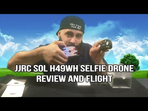 JJRC SOL H49WH WIFI FPV Selfie Drone Unboxing In Depth Review Flight Courtesy