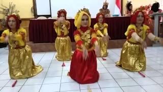 Tari Kreasi Mappadendang XI AP 1 SMKN 12 Jakarta