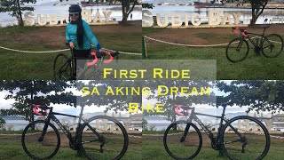 FIRST RIDE ko sa Sarili kong bike | Sunpeed Flash @Sbma Airport