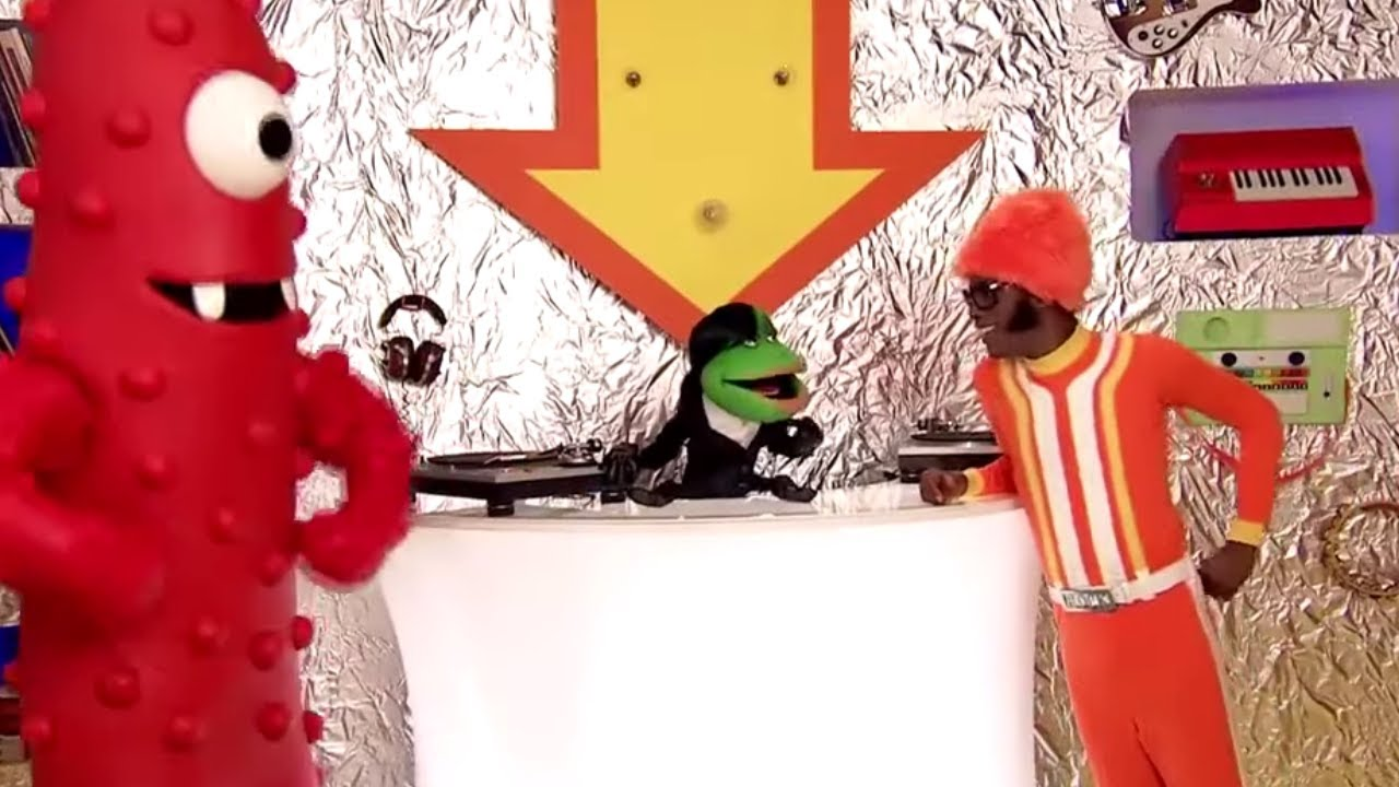 Yo Gabba Gabba 402 - DJ Lance's Super Music and Toy Room | Full Episodes HD | Season 4
