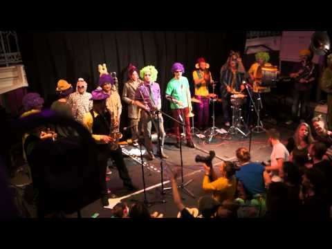 Edinburgh Mardi Gras Allstars - AP Touro (Rebirth Brass Band)