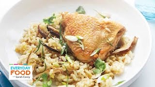 Asian-style Chicken And Rice - Everyday Food With Sarah Carey