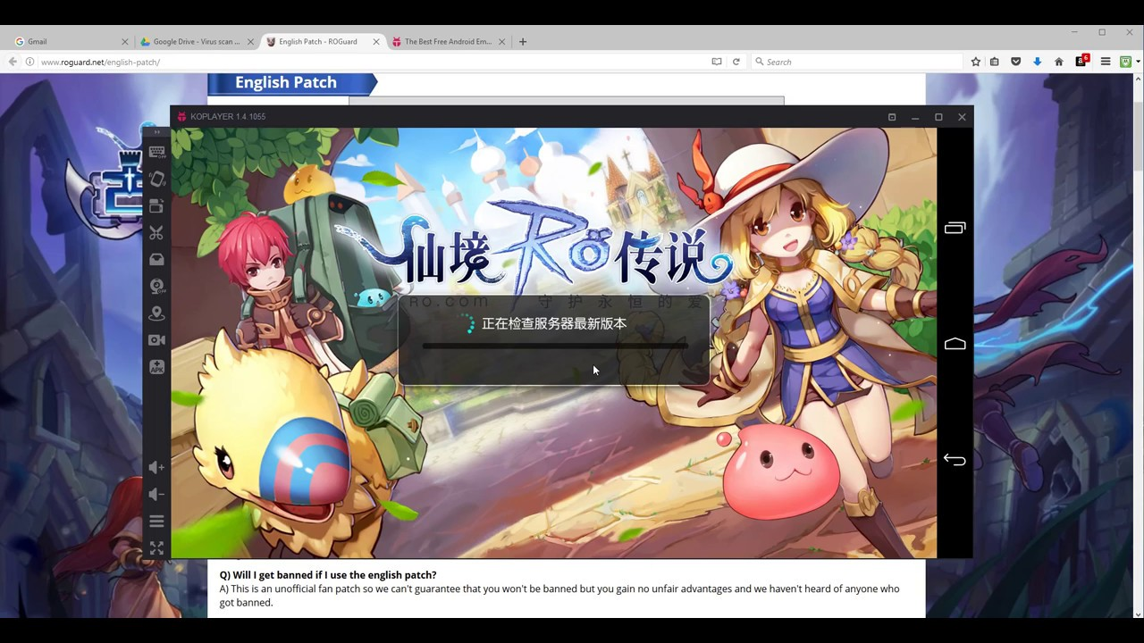 server gratis giocare ragnarok