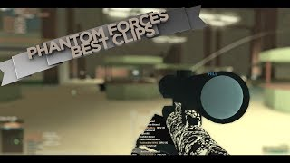 My Top 10 Favorite Clips on Phantom Forces!! (roblox)