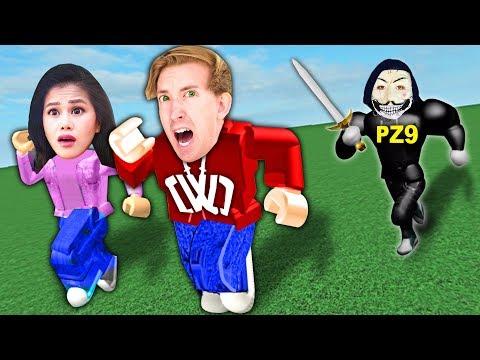 PZ9 HACKED US IN ROBLOX! Spying On Hacker Best Friend Hiding Inside Video Game 24 Hours Challenge