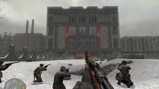 Call of Duty 2/вторая мировая/серия 1/прохождение!