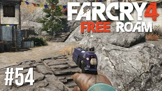 Far Cry 4 Free Roam #54 - Purple Gun! (Far Cry 4 Free Roam PS4 Gameplay)