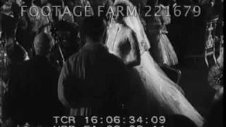 Grace Kelly & Prince Rainier wedding 221679-01.mp4