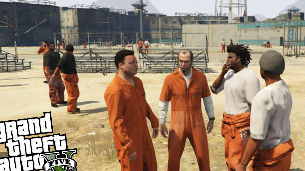 Gta 5 Pc Prison Break Mod Planning The Epic Prison Escape Grand Theft Auto 5 Prison Gameplay Youtube