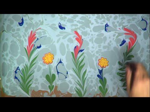 Ebru Sanatı - Kubilay Eralp Dinçer - İsviçre Kızılhaç Balosu