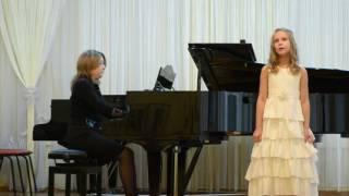 Ремизова Милана 8 лет, песня синицы