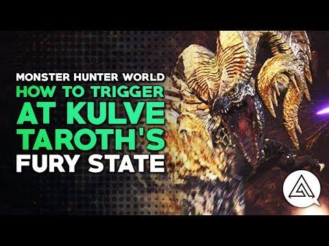 Monster Hunter World | How to Trigger AT Kulve Taroth's Fury